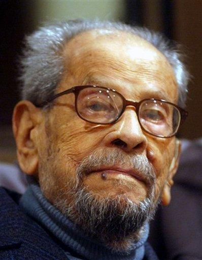 Nobel Laureate Naguib Mahfouz